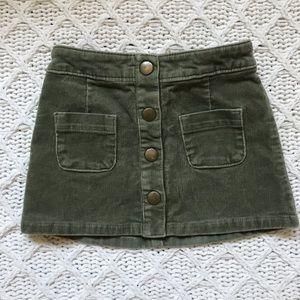 Genuine Kids Cord Skirt